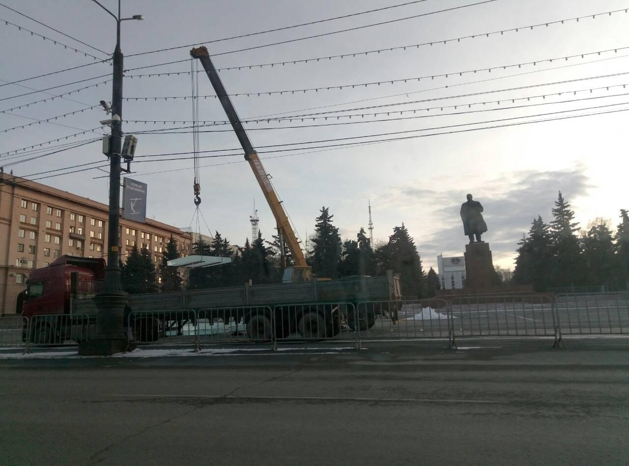 Главный ледовый городок официально откроют в конце декабря