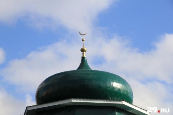 Практически все работы в мечети уже завершены