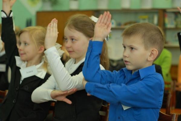 Школьников с каждым годом становится все больше