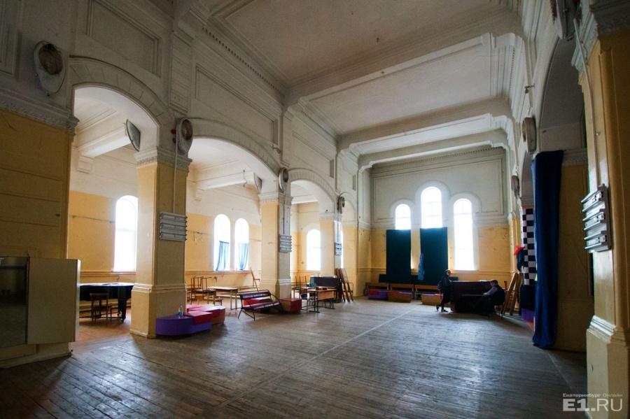 Так церковь Марии Магдалины выглядит изнутри.