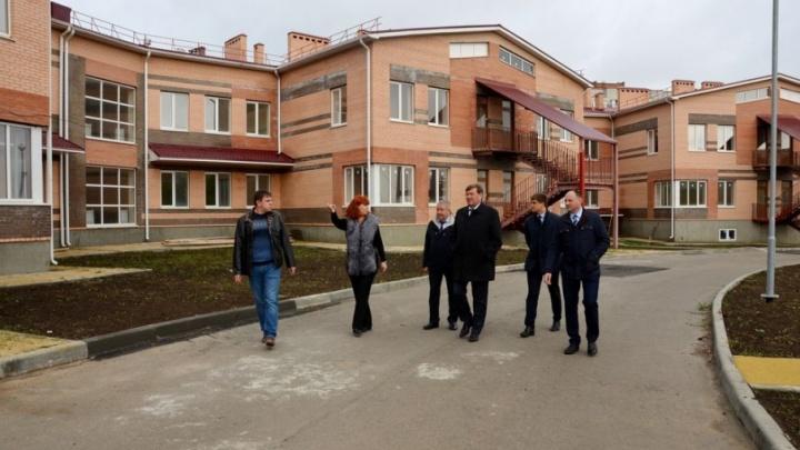 В Аксайском районе строят две новые школы, детский сад и Дворец спорта