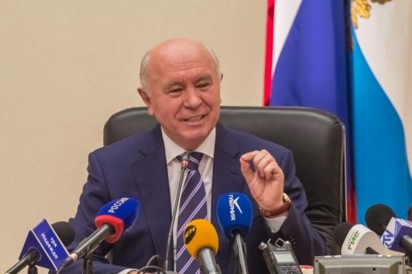 Николай Меркушкин занимал пост губернатора с 2012 года