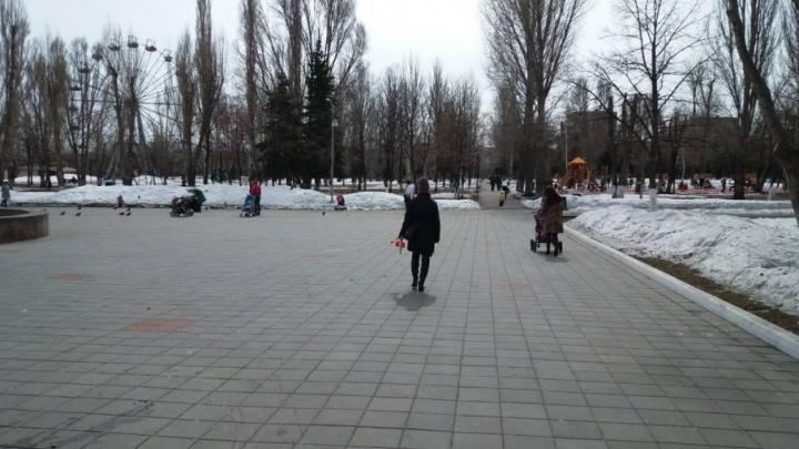 Вход и ограждения в парке Щорса отремонтируют в мае