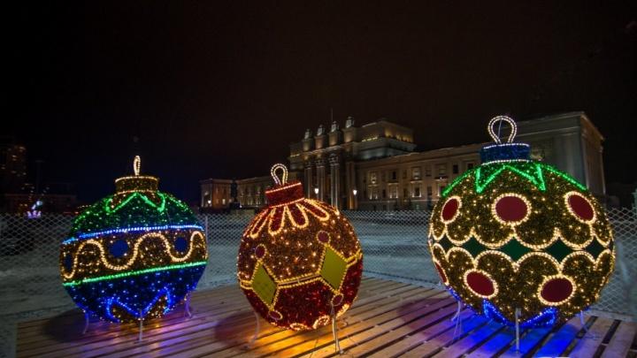 Стала известна программа празднования Нового года в Самаре