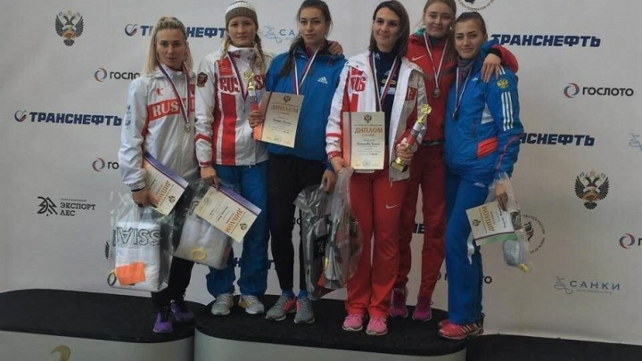 Поморская бобслеистка Анна Головина завоевала серебро на Кубке России