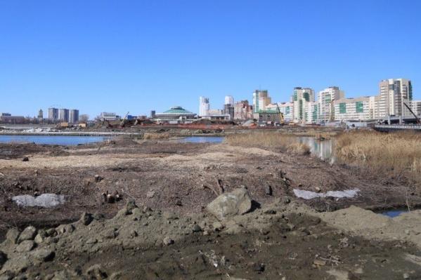 Работы на набережной завершат к середине весны 2020-го года