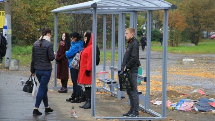 Ждать автобуса под крышей: на МРВ к концу недели смонтируют новые остановки