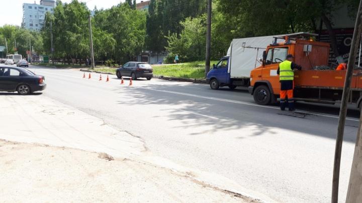 Исправили разметку: в Самаре вновь разрешили левый поворот с проспекта Кирова на Карла Маркса