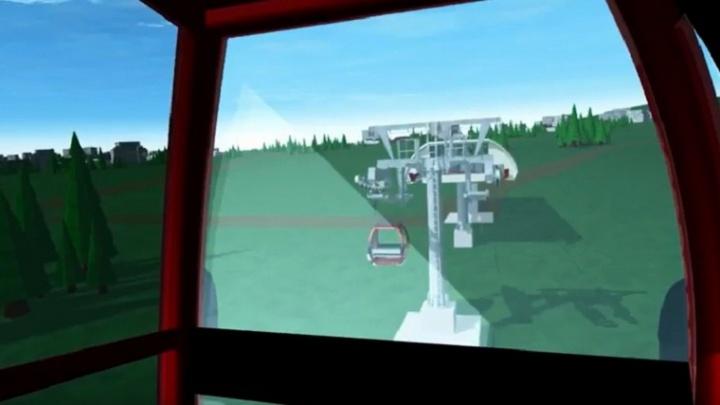 Создали 3D-модель будущей канатной дороги через Волгу в Тутаеве