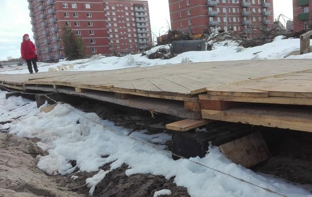 Арктический «паркет» переехал на Ленинградский проспект