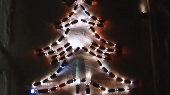 Побить рекорд России: в Новочеркасске автолюбители выстроят новогоднюю елку из 450 автомобилей