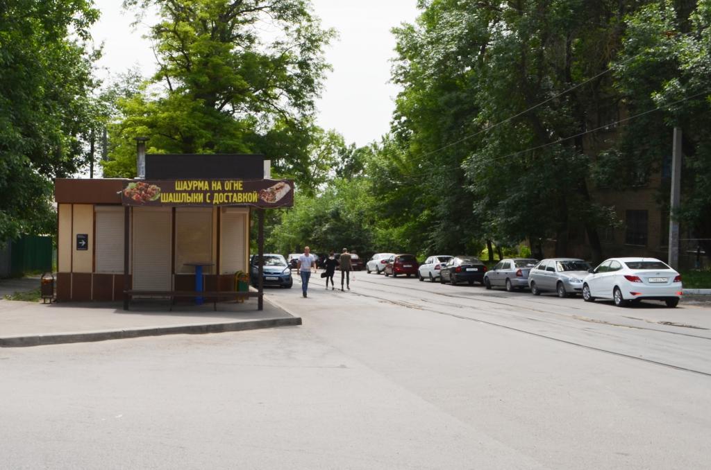 Ларьки с шаурмой в Новочеркасске оказались закрыты