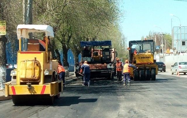 Отсутствие в Волгограде разметки объяснили дорожным ремонтом