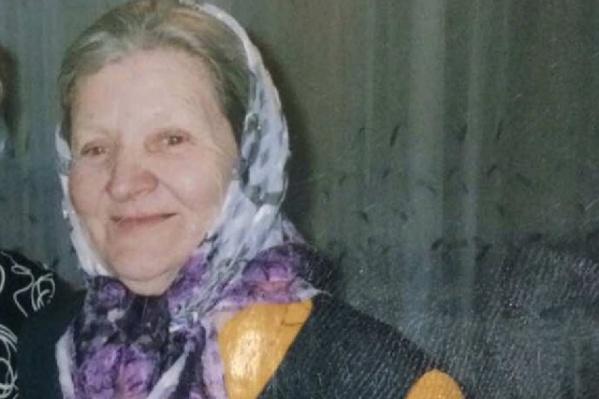 Татьяна Халятина пропала 19 апреля в поселке Московском
