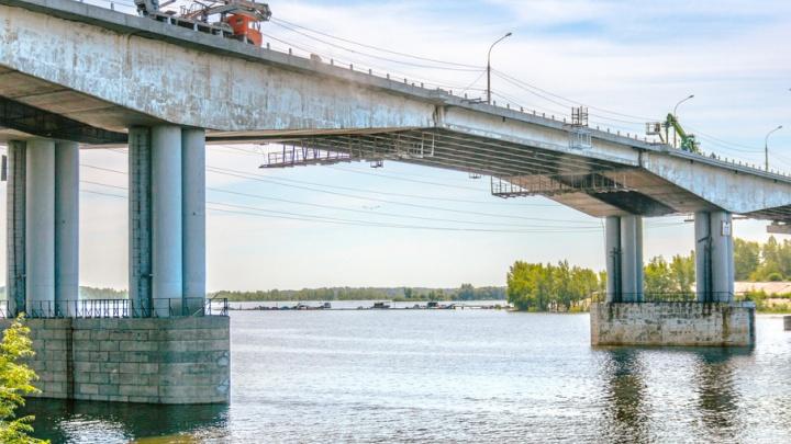 Движение по левой половине Южного моста откроют в ночь на 22 июля