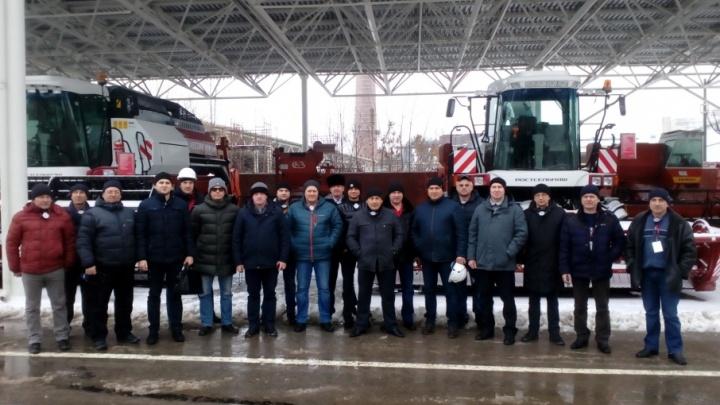 Аграрии Пермского края посетили площадку Ростсельмаш
