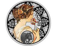 Северный банк: серебряная монета со знаком зодиака Телец