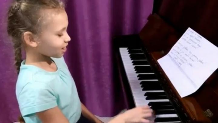 «Я в тебя верю»: в Перми школьница написала гимн в поддержку российских спортсменов на Олимпиаде