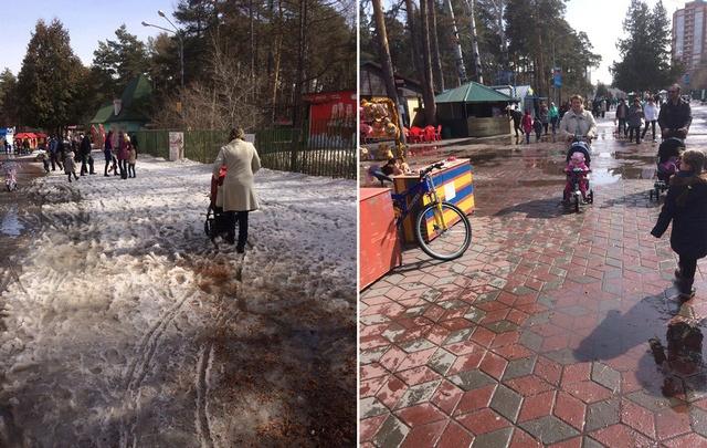 Глава Челябинска потребовал фотоотчёт о наведении чистоты в парке Гагарина