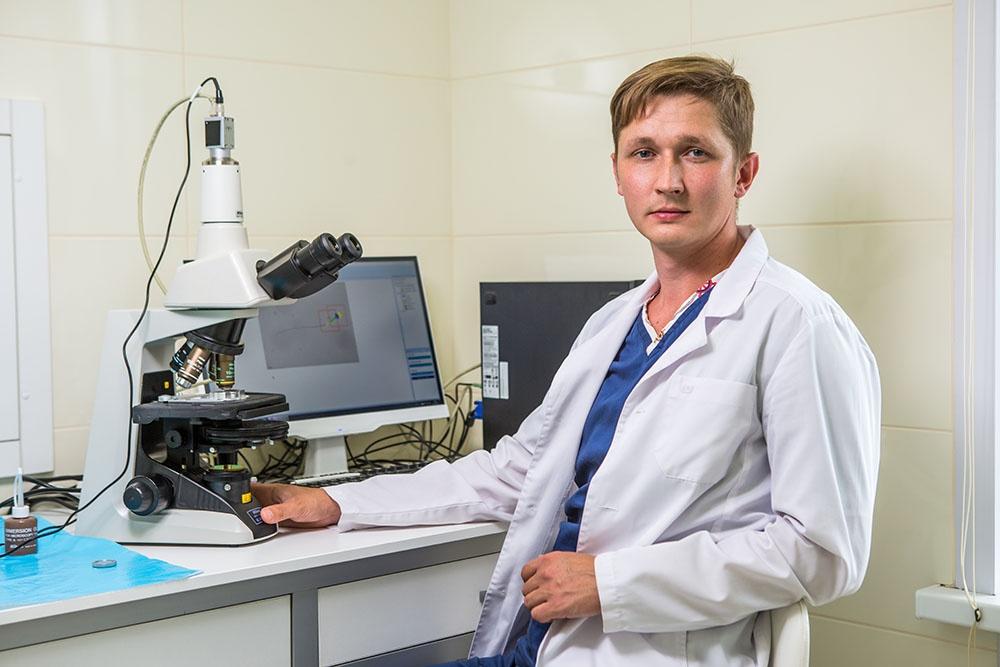 Виктор Парфенов, эмбриолог, врач клинико-диагностической лаборатории