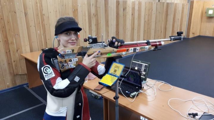 Северянка Дарья Вдовина выиграла чемпионат Европы по стрельбе из пневматического оружия