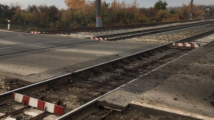 Железнодорожный переезд в Крутых Ключах разобрали