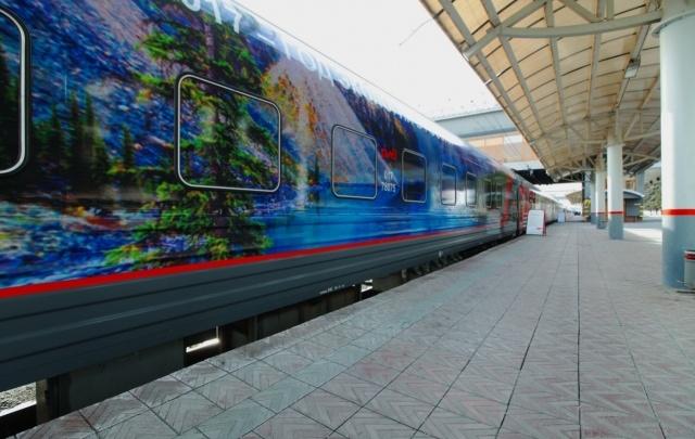 Поезд-музей вызвал ажиотаж среди челябинцев