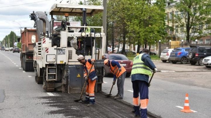 В Ярославле на проспекте Октября проверили ремонт дороги