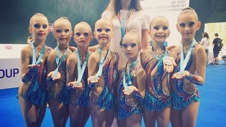 Юные ростовские гимнастки привезли серебро из Венгрии