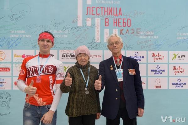 Главным победителем забега стал ветеран Александр Медков