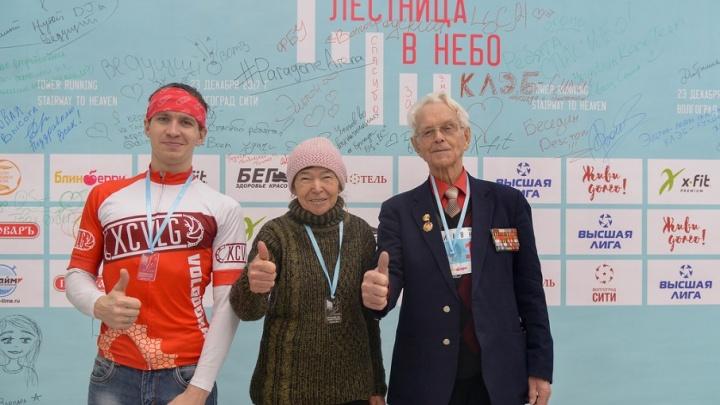 К небу за три минуты: в Волгограде сняли на видео вертикальный забег