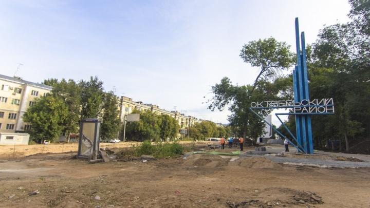 В Самаре участок Ново-Садовой на пересечении с Полевой готовят к открытию