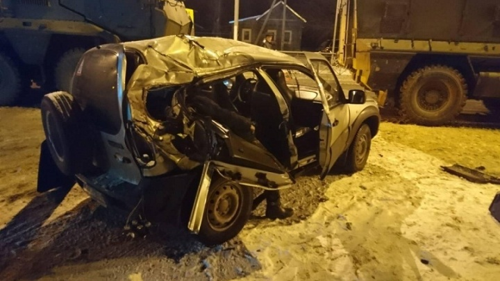В страшной аварии под Волгоградом погиб молодой мужчина