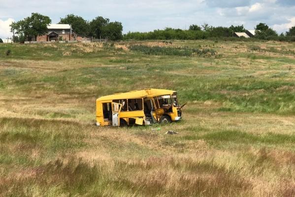 Автобус, водителем которого был Виктор Холостов