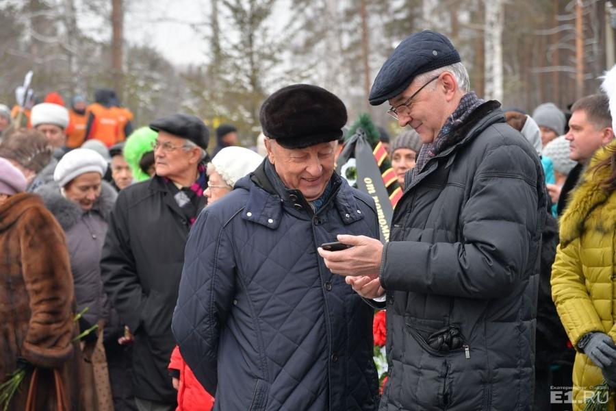 Эдуард Россель и Александр Якоб.