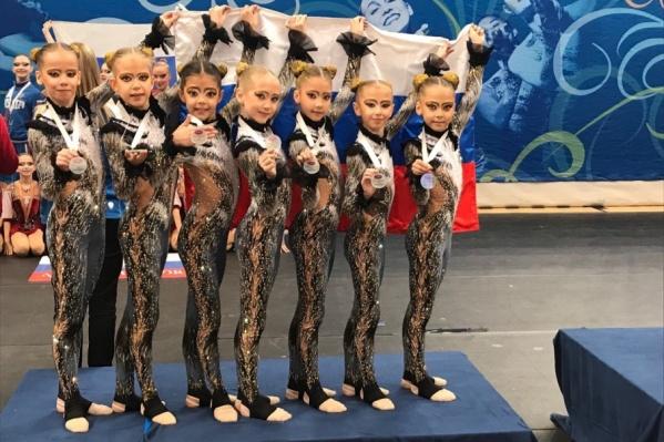 Юные пермские гимнастки заняли второе место