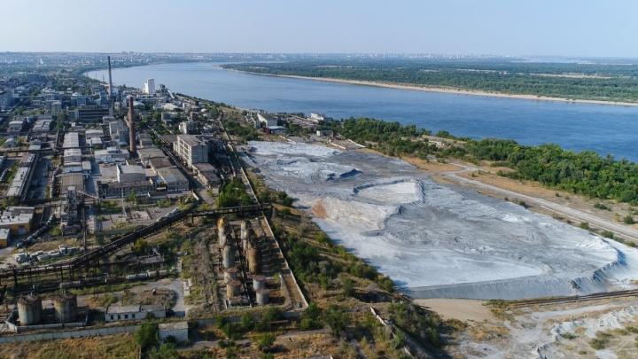 В Волгограде просят денег на «белое море» возле «Химпрома»