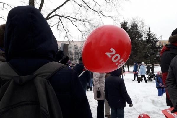 Сторонники политика митингуют против обмана на выборах