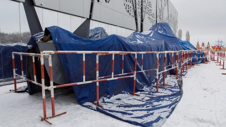 Поднятый из Волги бронекатер БК-31 переехал к музею «Россия — моя история»