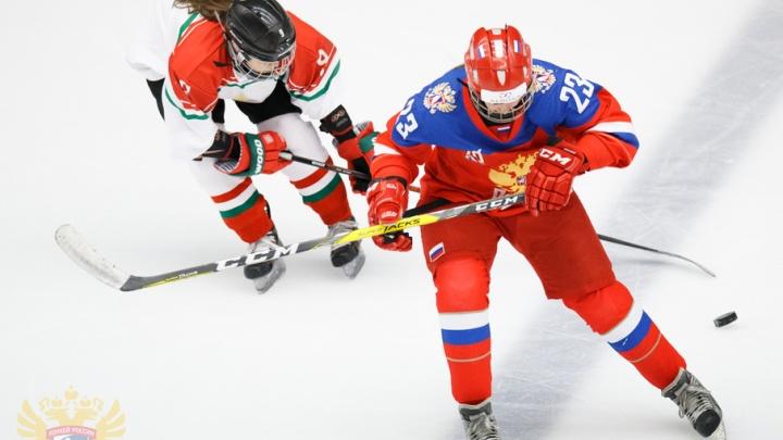 Юные челябинки отличились на Кубке Европы по хоккею
