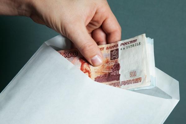 Размер взятки составил 40 тысяч рублей