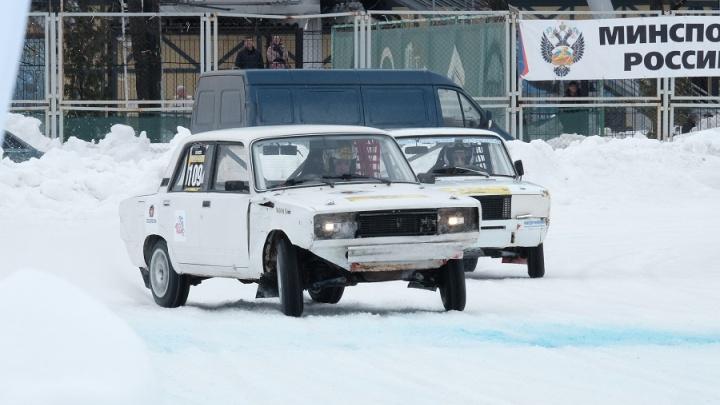 В Прикамье пройдет чемпионат по автогонкам на льду «Трек-400»