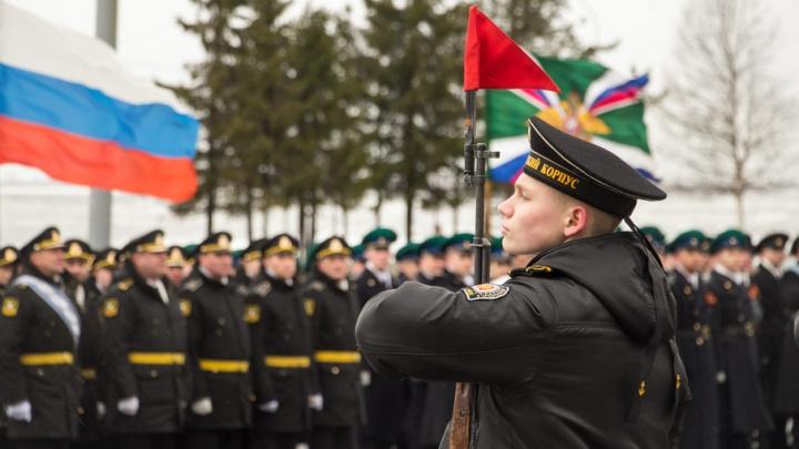 В Архангельске отрепетировали парад Победы