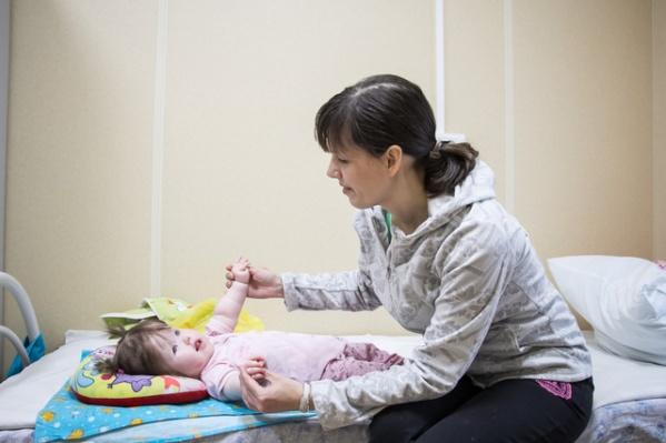 В паллиативном отделении главное - создать психологически здоровую атмосферу для матери и ребенка