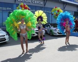 Бразильское лето в Тюмень привез «АвтоМакс»