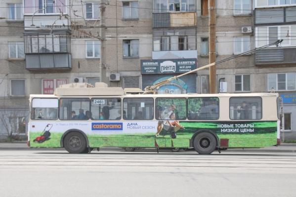 Троллейбус №16 проследует по маршруту «АМЗ – поселок Первоозерный»