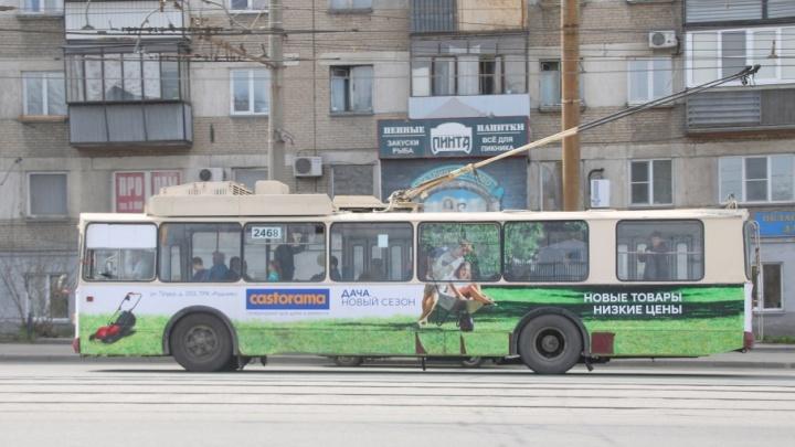 Движение троллейбусов на ЧТЗ обещают возобновить в пятницу