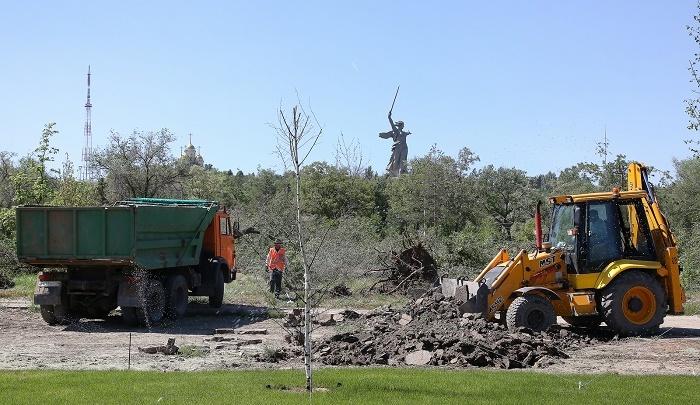 В Мемориальном парке у Мамаева кургана появятся два фонтана