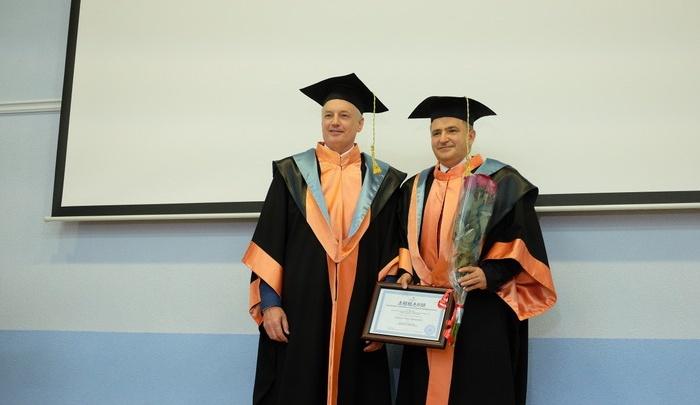 Зампредседатель правления Сбербанка Лев Хасис стал почетным доктором Самарского университета