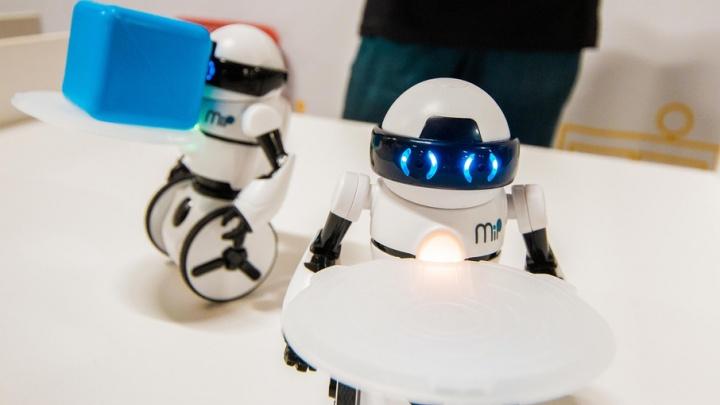 Самые известные роботы мира приехали в Тюмень